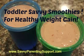 Toddler Savvy Smoothies: For Healthy Weight Gain