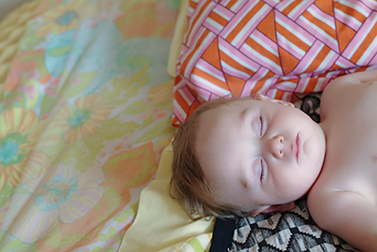 sleeping infant | sleep savvy coaching