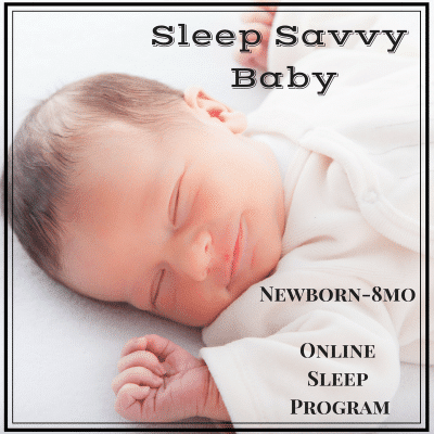 Sleep Savvy Baby Newborn Sleep Program Online
