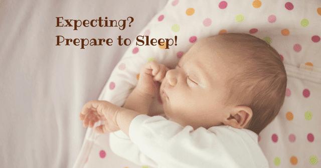 expecting? breastfeeding and sleep