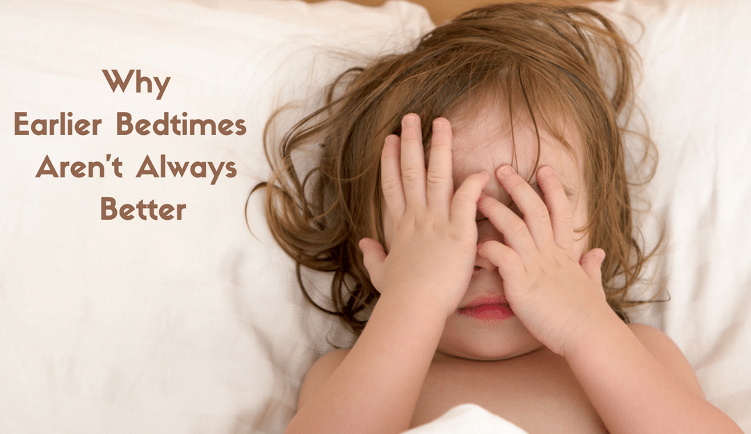 Why Earlier Bedtimes Aren't Always Better