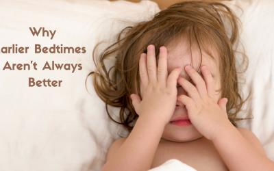 Why Earlier Bedtimes Aren't Always Better