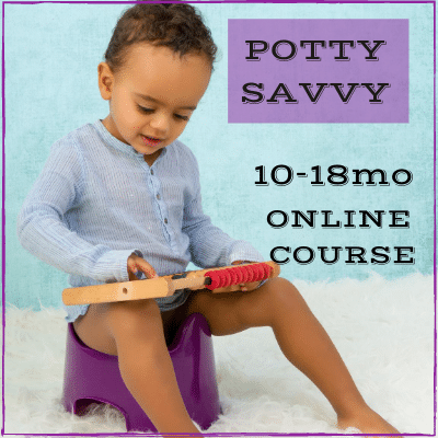 Potty Learning Online Course. Early Potty Training for Babies and Toddlers.
